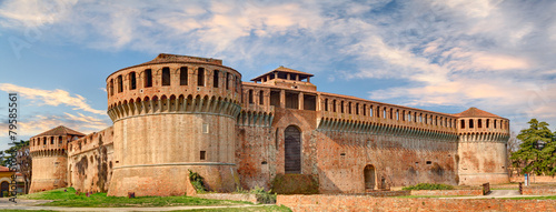 Fotografie, Obraz Fortress of Imola, Bologna, Italy