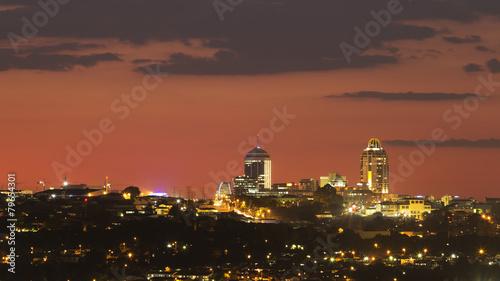 Sandton Skyline, Johannesburg, Gauteng, South Africa.