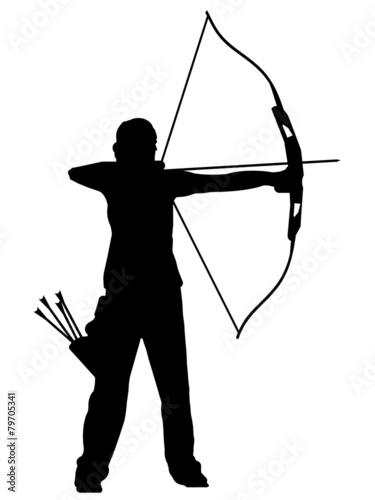 Fotografía Silhueta - Tiro com arco