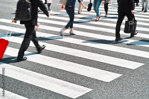 zebra crossing Fototapeta