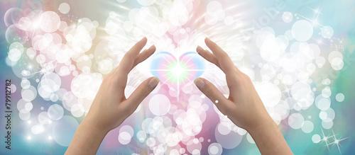 Foto Healing hands website header