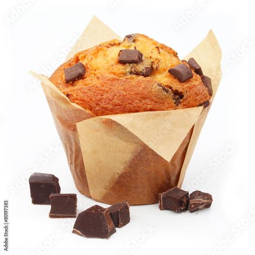 Fotografia Muffin aux pépites de chocolat