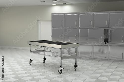 Fotografia autopsy room