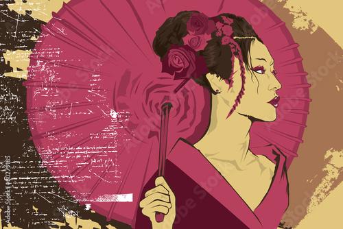 Tablou Canvas Geisha