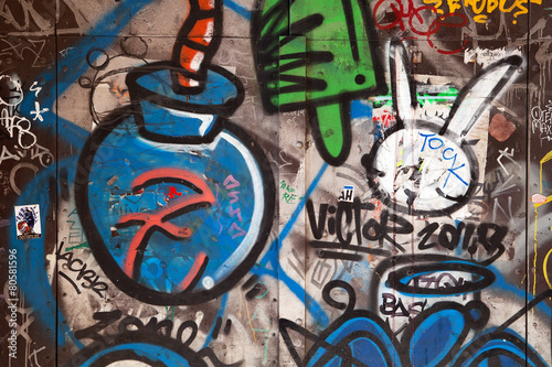 Buenos Aires Graffiti found on a public wall