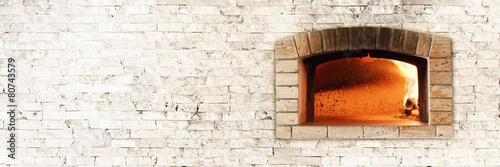 Traditional oven Fototapet