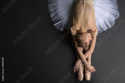 Obraz na płótnie Graceful ballerina