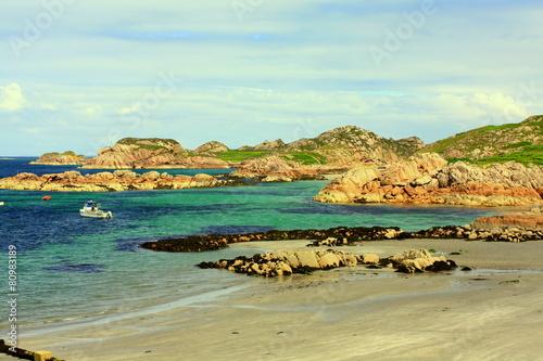 Obraz na plátne Iona is a small island in Scotland.