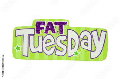 Wallpaper Mural Fat Tuesday