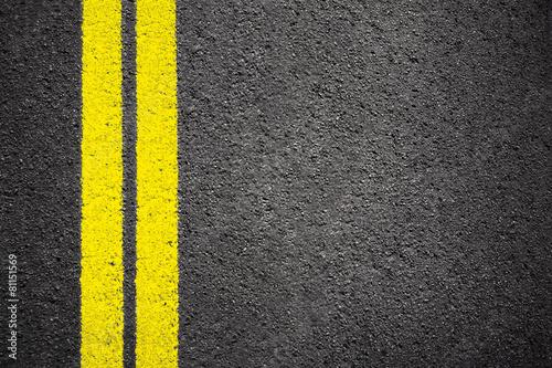 Cuadros en Lienzo Líneas amarillas