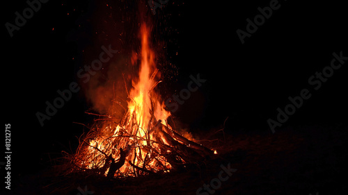Foto lagerfeuer