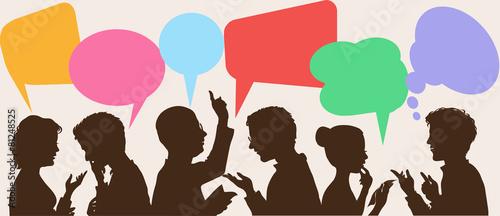 Cuadros en Lienzo dialogue