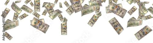 Foto money rain - Stock Image