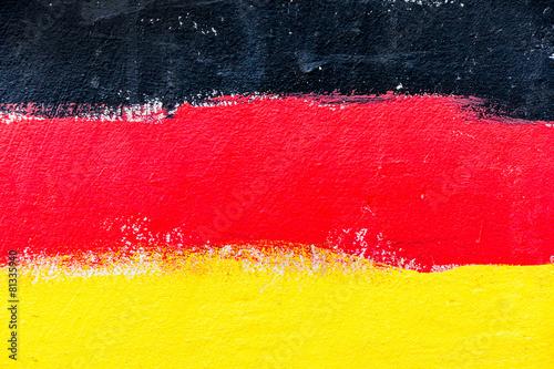 Wallpaper Mural deutsche Staatsfahne
