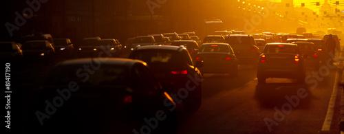 Obraz na plátně Traffic jam