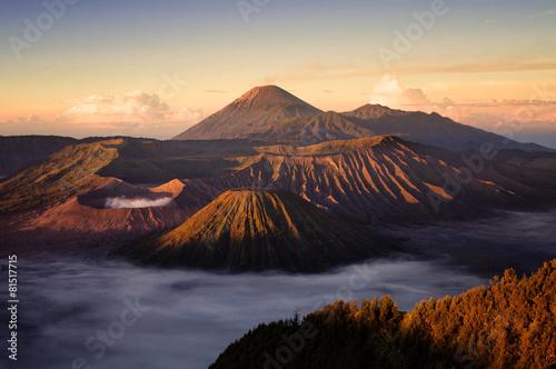 Photo Bromo volcano in Indonesia