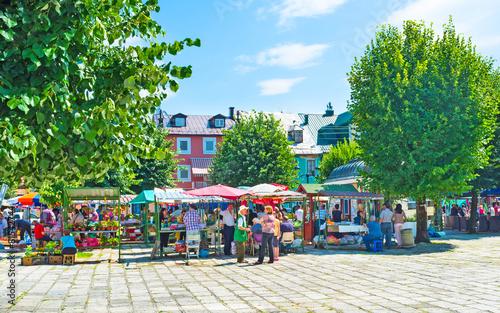 Obraz na plátně The market