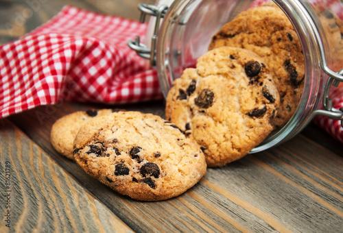 Cuadros en Lienzo Chocolate cookies