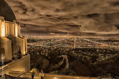 Fotografia Los Angeles cityscape