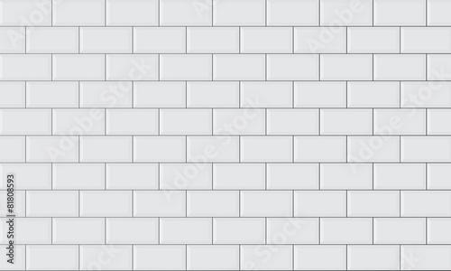 Fotografie, Obraz ceramic brick tile wall