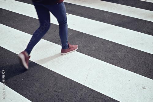 Carta da parati Zebra crossing