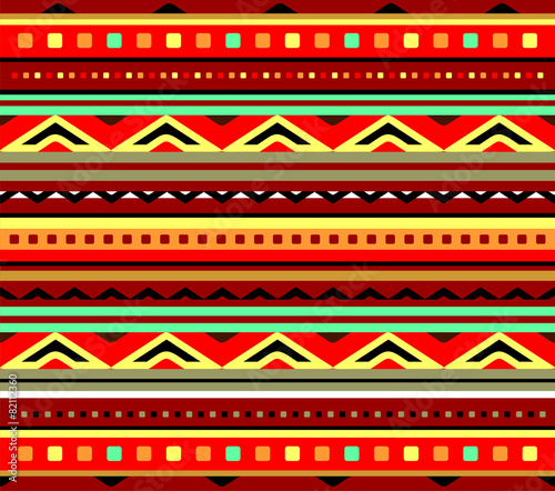 Fotografie, Obraz Seamless pattern