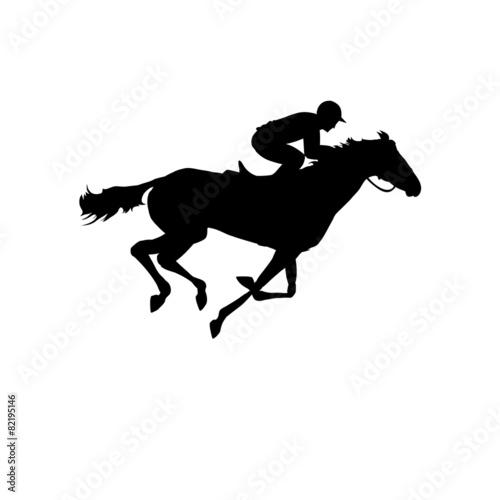 Horse. Derby Tapéta, Fotótapéta