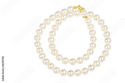 Pearl necklace Fototapeta