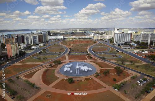 Skyline of Brasilia – capital of Brazil