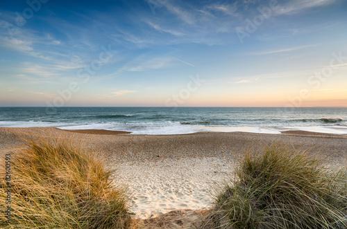 Valokuvatapetti Snad dunes at Hengistbury Head