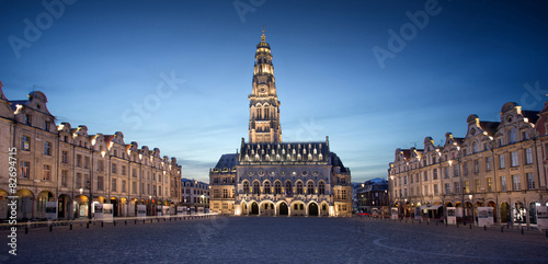 Fotografia The heroes place in Arras, France