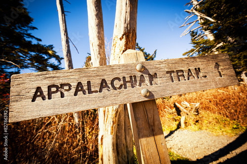 Vászonkép Appalachian Trail