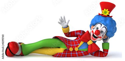 Fényképezés Fun clown