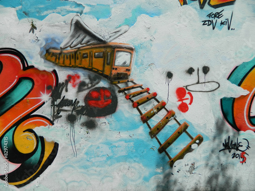 Fotografering street art à Paris
