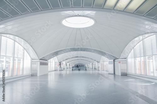 Naklejka na szafę Futurystyczne wnętrze terminala