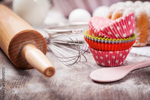 Obraz na płótnie Baking utensils