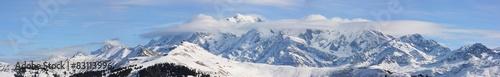 panorama sur la chaîne du mont-blanc #83113996