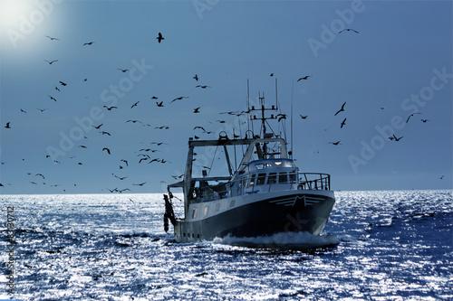 Obraz na płótnie Fisherboat
