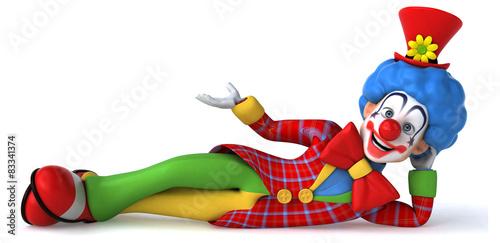 Vászonkép Fun clown