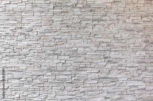The exterior granite brick wall building.