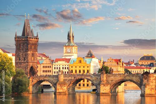 Canvas Prague - Charles bridge, Czech Republic