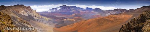 Photo Panoramic View Haleakala Volcano Crater Summit  Maui Hawaii