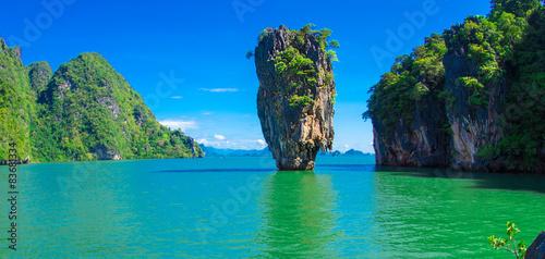 Carta da parati james bond island in thailand, ko tapu