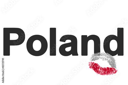 Lieblingsland Polen (favorite country Poland) #83721741