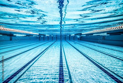 Canvas Print swimming pool