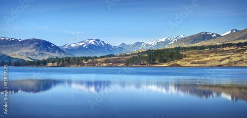 Scottish Highlands Landscape #83882525