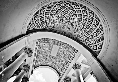 Black and white dome #83990702
