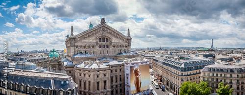 Palais Garnier et Tour Eiffel #84052536