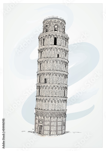 Obraz na płótnie Leaning Tower of Pisa