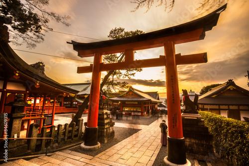 Fototapeta premium Fushimi Inari Taisha Shrine w Kioto,